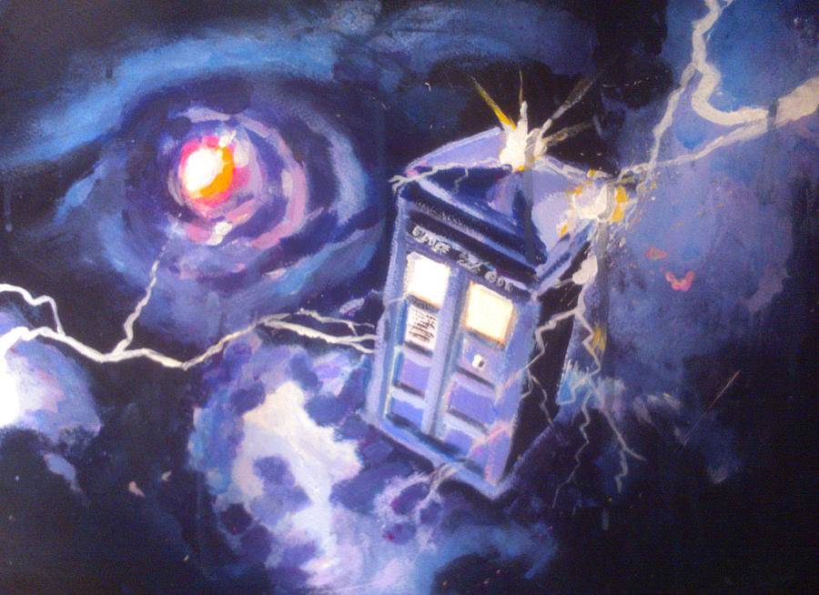 Doctor Who Canvas Painting