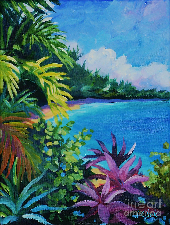 large tropical paintings
