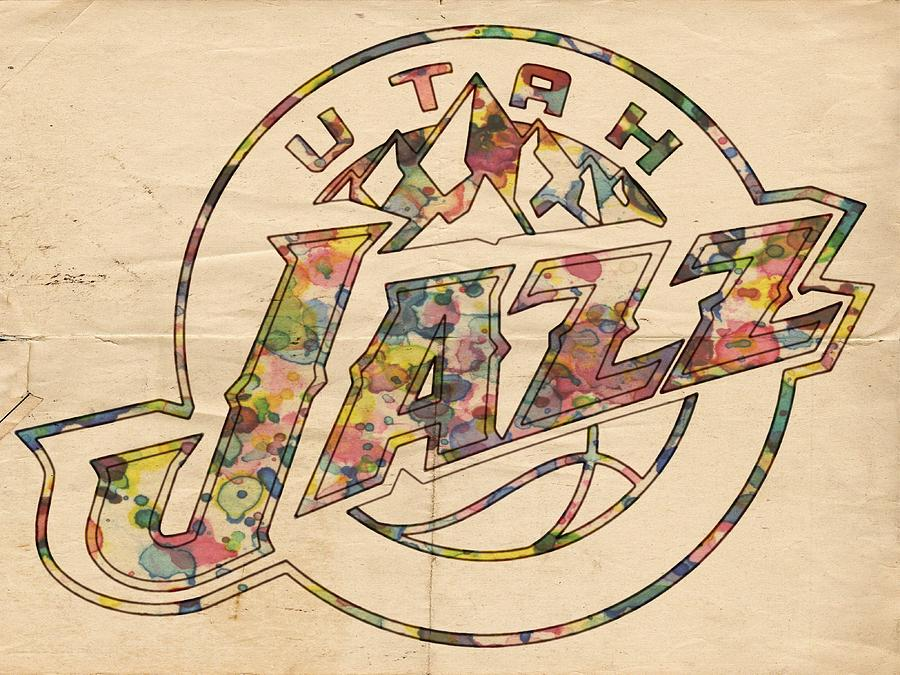 utah jazz poster art by florian rodarte