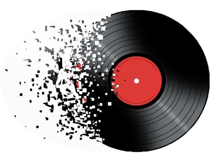 Vinyl to Digital Digital Art by Frank Cortez