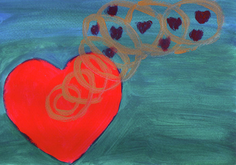 Heart Spring 1 by Suzie Cheel (click for source, Fine Art America)