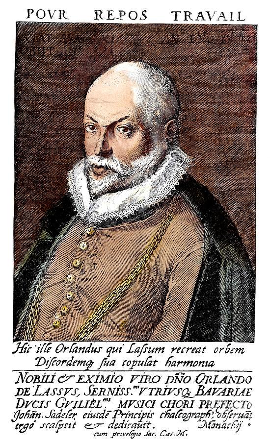 Orlando Di Lasso (1532-1594) Photograph by Granger