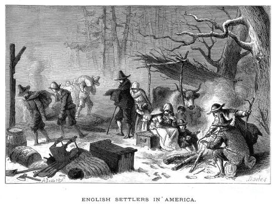 The Pilgrims' First Brutal Winter, 1620