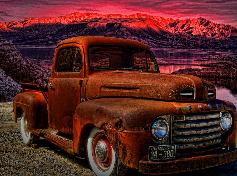 1948 Ford Pickup Truck Photograph By Tim McCullough