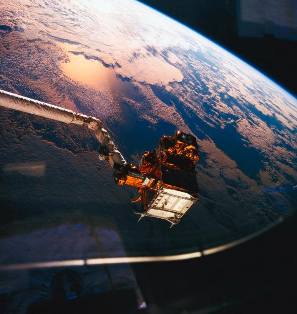 Earth Viewed From The Space Shuttle Photograph by Stockbyte