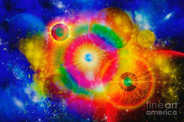 A Vast Gaseous Nebula Illuminated Digital Art by Mark ...