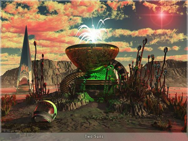 Alien World 2 by Jim Coe