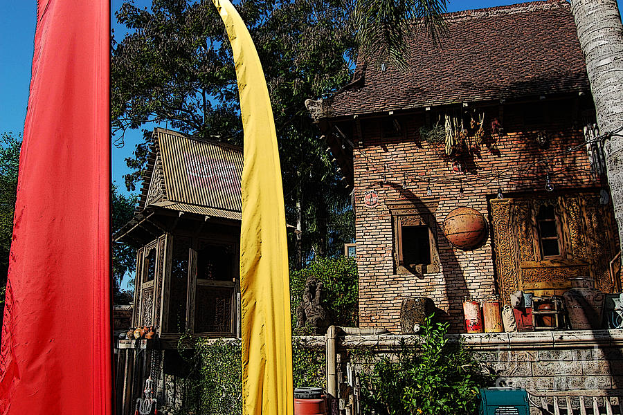 Asia Theming And Flags At Animal Kingdom Walt Disney World