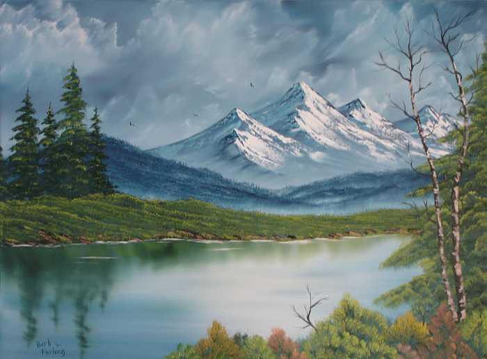 Basic Landscape Painting by Barbara Furlong on Basic Landscaping  id=27883