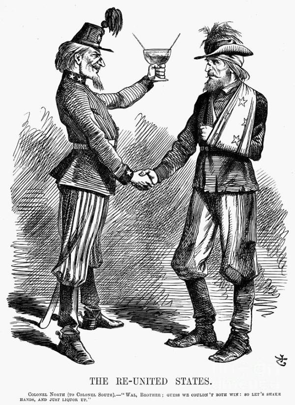 Civil War: Cartoon, 1865 Photograph by Granger