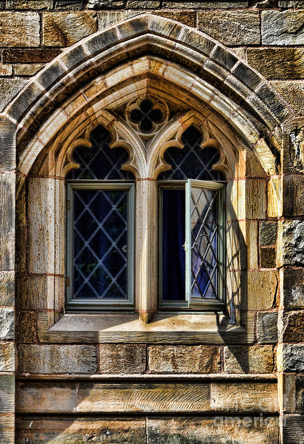 Gothic Stone Window Photograph By Jill Battaglia