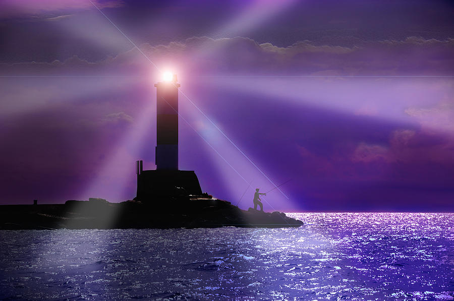 Lighthouse Digital Art - Lighthouse by Shawn Davis