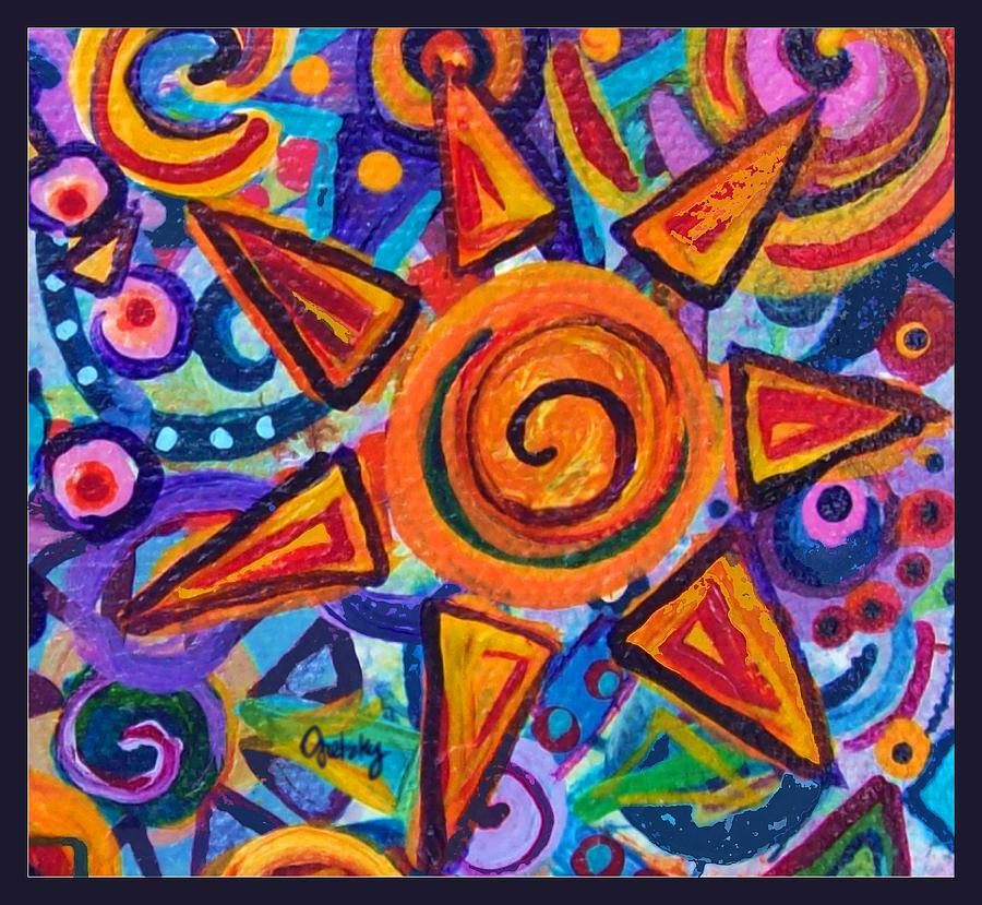 Painted Star Painting By Paintings By Gretzky
