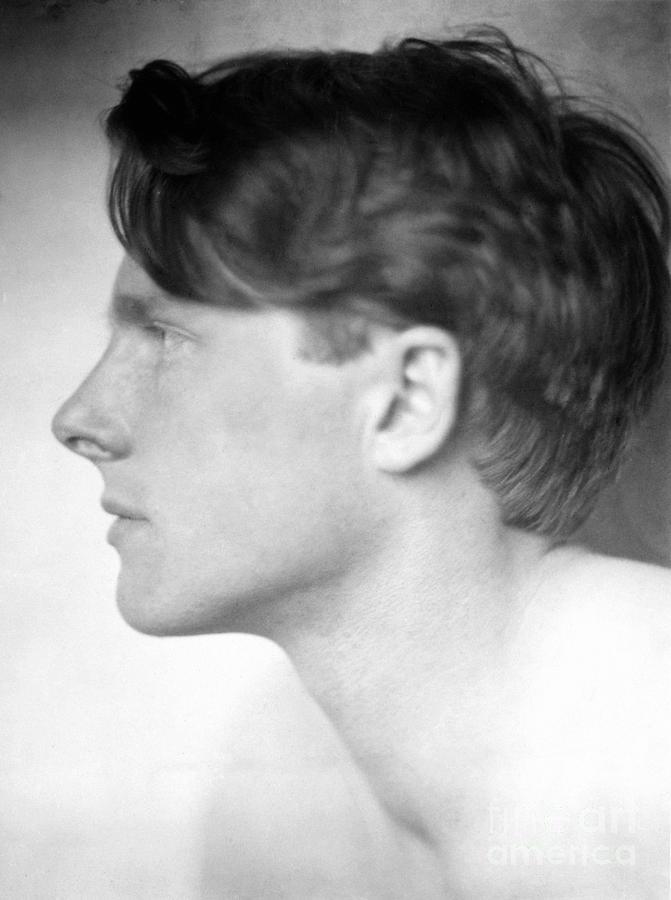 Rupert Brooke 1887 1915 Photograph By Granger