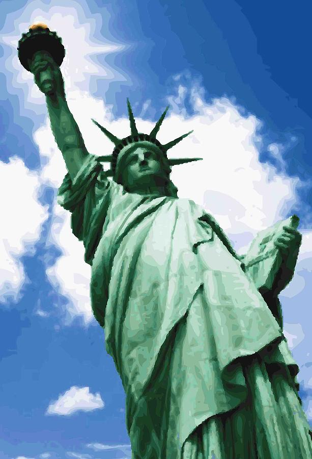 Liberty Was What Color Statue