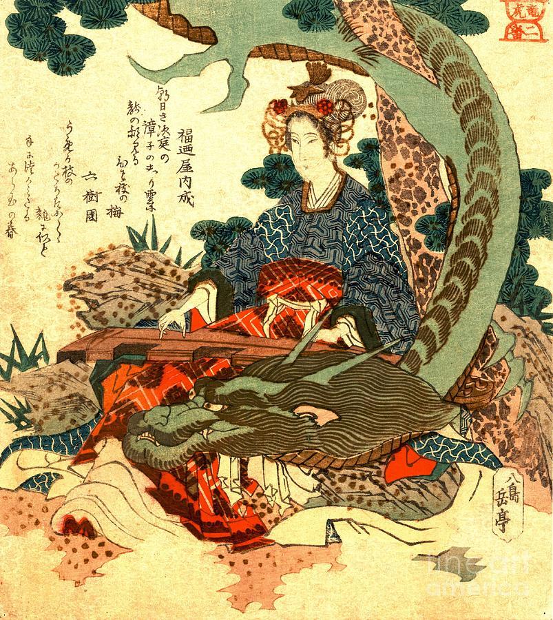 Dragon Japanese Tiger Wallpaper