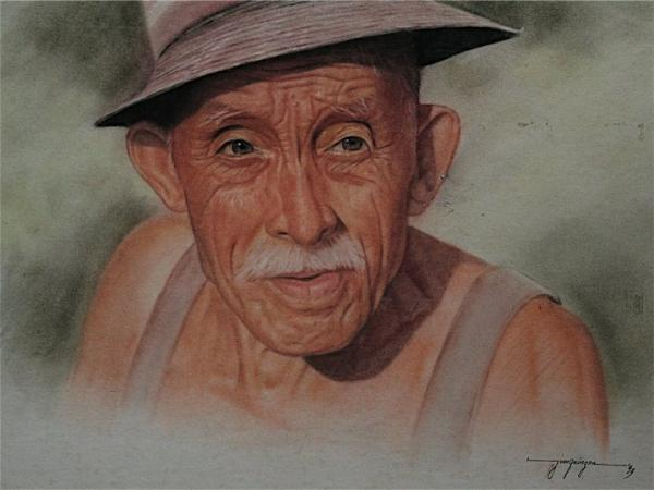 Old Man by Jimmy Quinzon