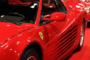 Featured - 1986 Ferrari Testarossa - 5D20028 by Wingsdomain Art and Photography