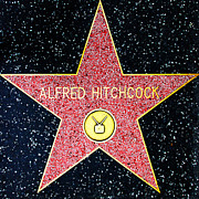 Featured - Hollywood Walk of Fame Alfred Hitchcock 5D28961 by Wingsdomain Art and Photography