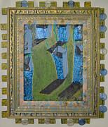 Orchard Of Frog Boxes - Framed