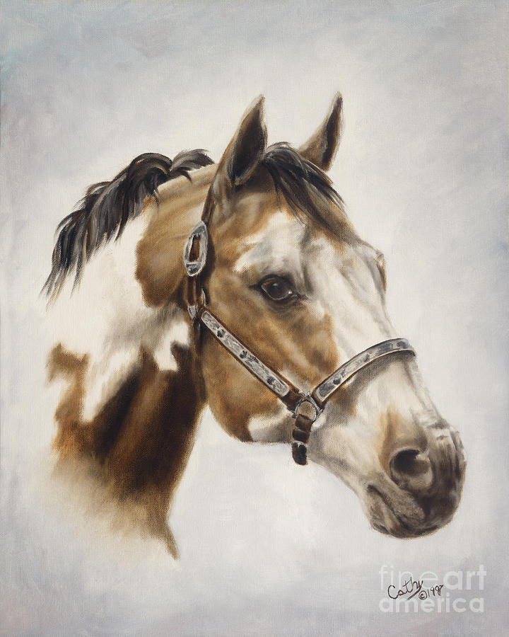 Show Off Painting By Cathy Cleveland