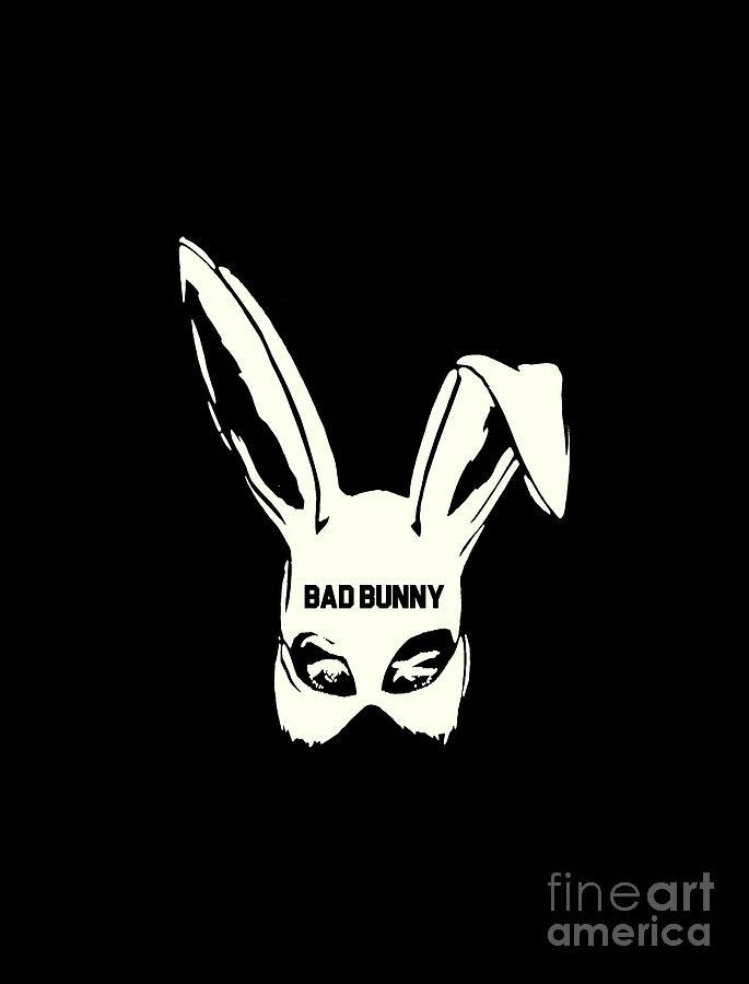 bad bunny poster wall print 24 x 36 1