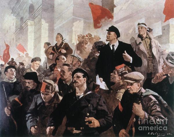 Vladimir Lenin (1870-1924) Photograph by Granger
