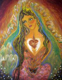 Image result for goddess is love painting