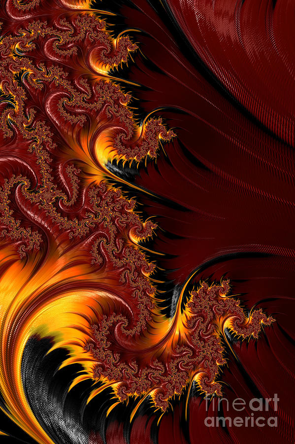 Chinese New Year Fractal Digital Art by Ann Garrett Chinese New Year Digital Art   Chinese New Year Fractal by Ann Garrett
