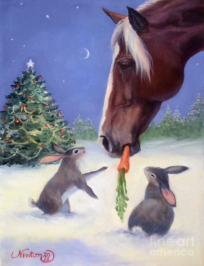 Christmas 2012 2 Painting By Jeanne Newton Schoborg