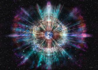 Earth Aura H007 Mixed Media by Daniel Holeman