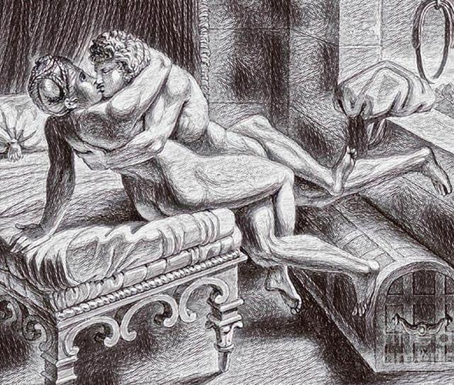 Bedroom Decor Drawing Erotic Drawing Seven By Pd