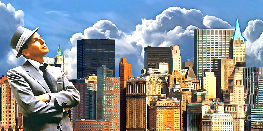 Frank Sinatra New York New York 20170507 Photograph By Wingsdomain Art And Photography