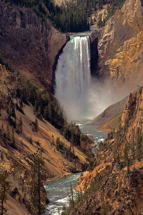 Grand Canyon Of The Yellowstone Photograph By Robert Pilkington