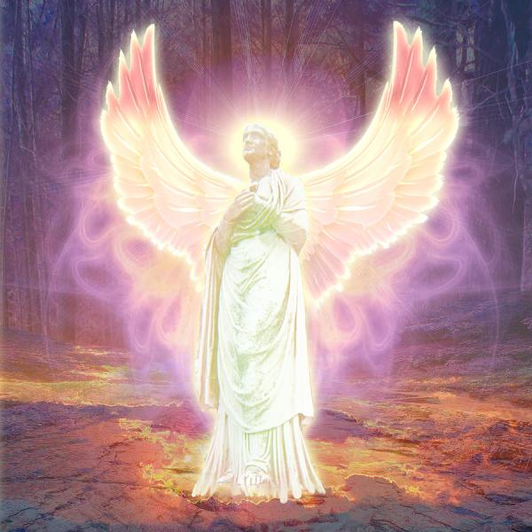 Guardian Angel Of God Painting by Michael Waters