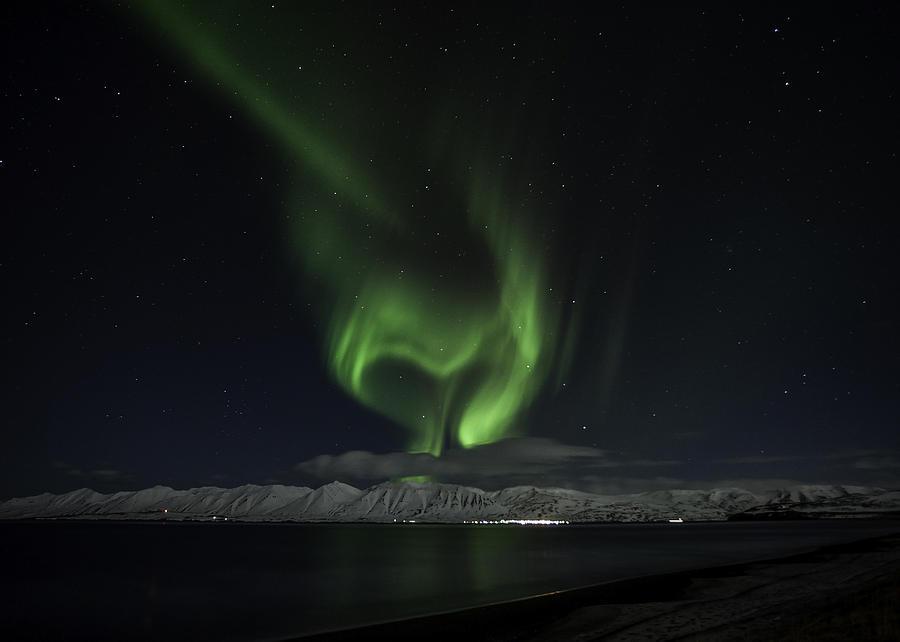 Northern Lights Heart