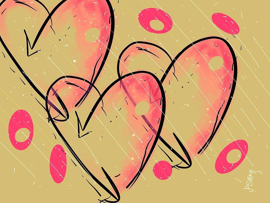 Download Hole Lotta Love - Neon Pink Edition Digital Art by Jason ...