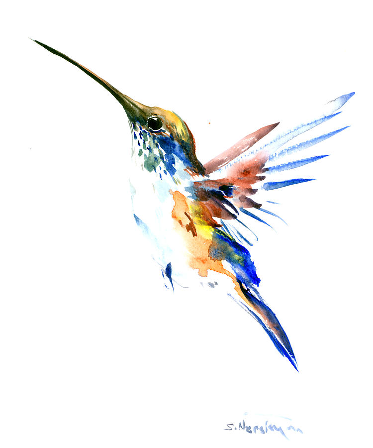 Hummingbird Home Decor