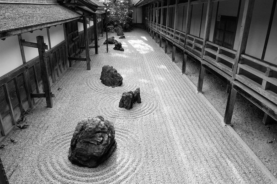 Japanese Zen Garden Photograph By Sebastian Musial