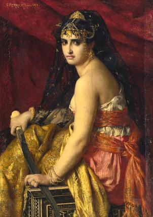 Judith Painting - Judith by Gabriel Ferrier