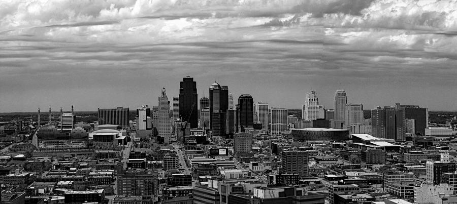 Kansas Canvas City Skyline