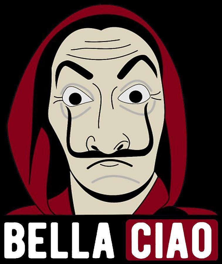 La Casa De Papel Lovers Bella Ciao Drawing By Amazigh