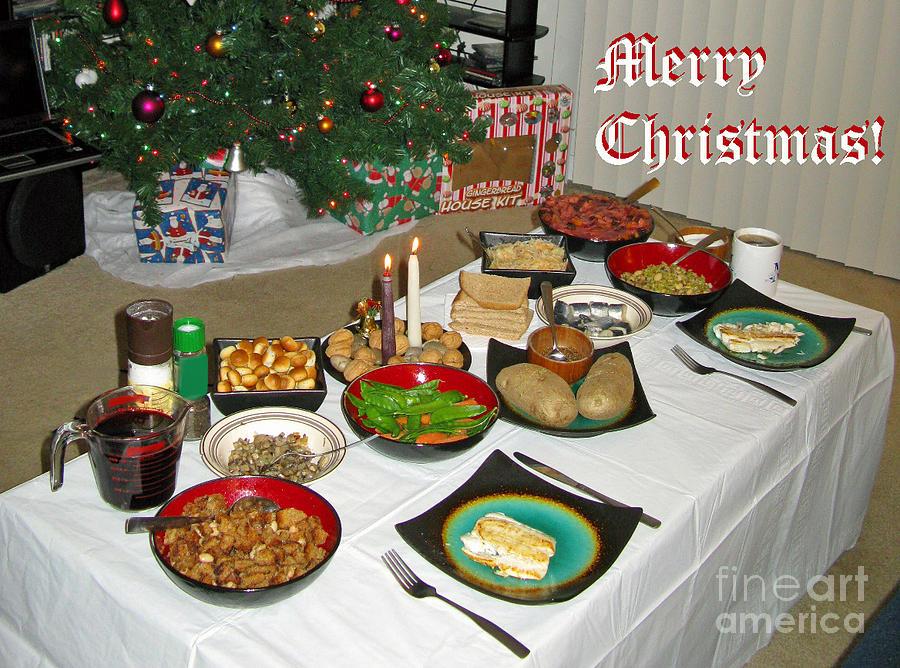 Merry Christmas Traditional Lithuanian Christmas Eve