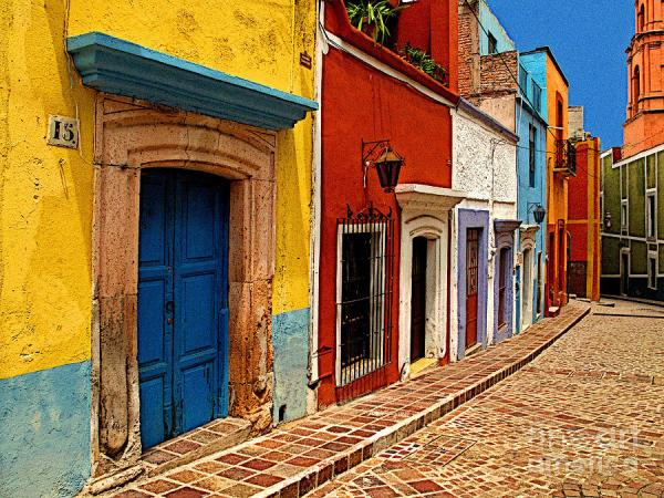 Neighbors Of The Yellow House Photograph by Mexicolors Art ...