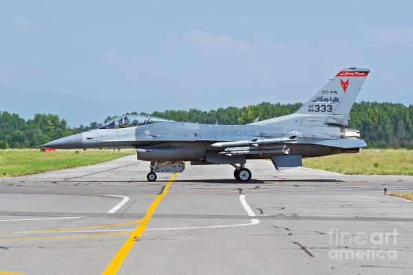 New Jersey Air National Guard F-16c Photograph by Daniele ...