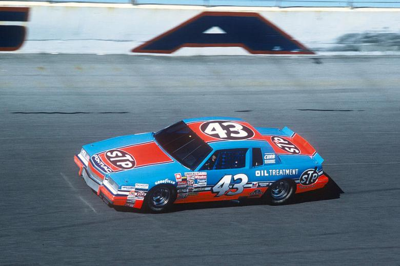 Richard Petty # 42 Stp Pontiac 1984 At Daytona Photograph by David Bryant