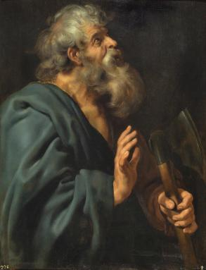 Saint Matthias Painting by Peter Paul Rubens
