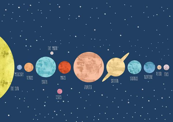 Solar System Solar System Painting by Art Galaxy