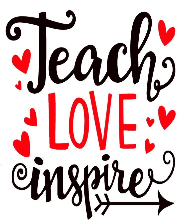 Download Teach Love Inspire Digital Art by Art Deco