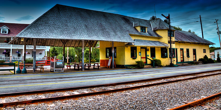 The Thendara Train Station Photograph By David Patterson
